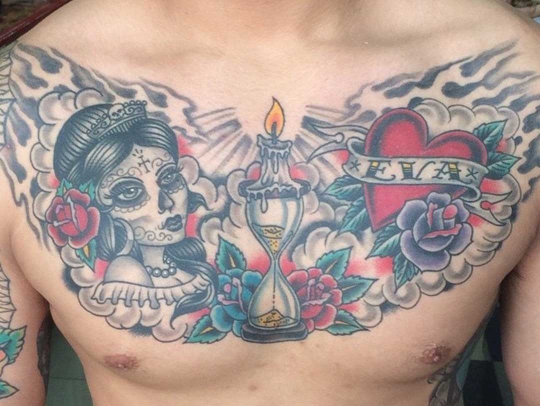 BNG WITH COLOR CHEST PIECE