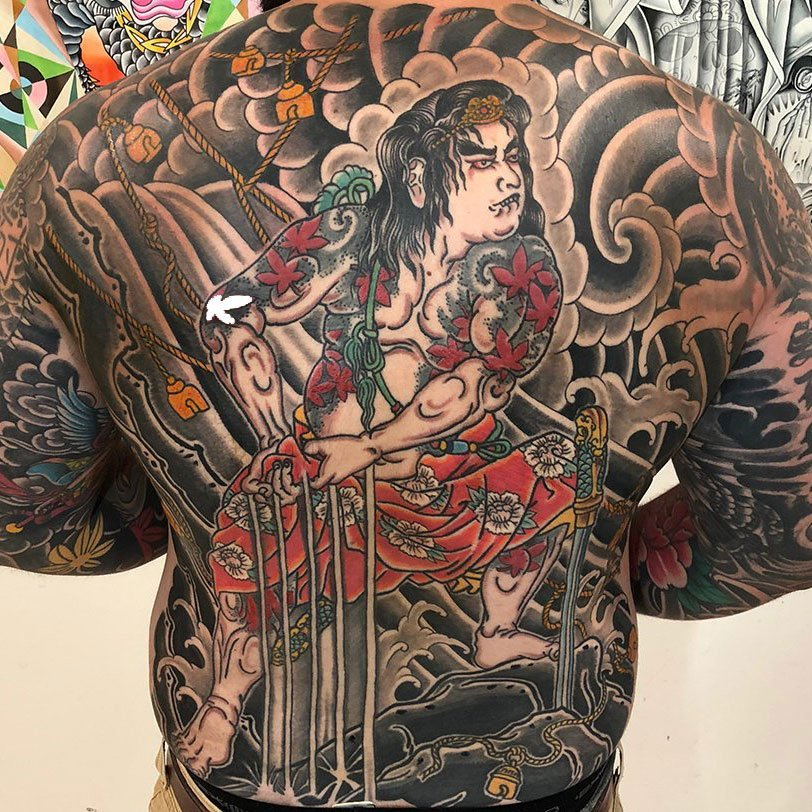 Joe Haasch Tattoo - Traditional Japanese Style Tattooing