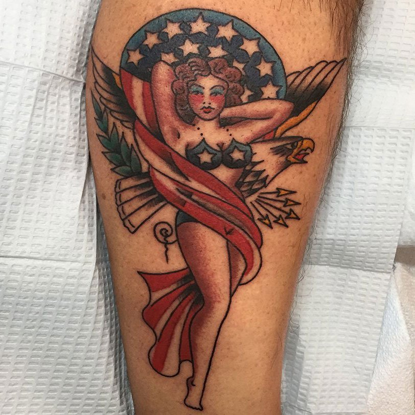 Joe Haasch Tattoo - Traditional American Style Tattooing