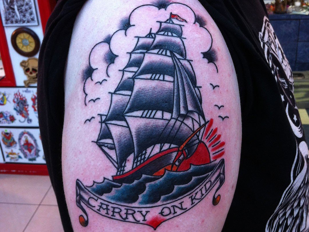 TRADITIONAL JERRY CLIPPER SHIP